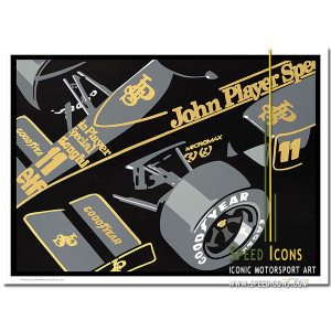 SPEED ICONS: JPS Lotus Formula 1