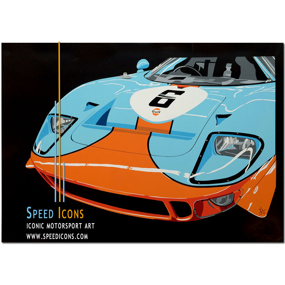 SPEED ICONS: Gulf Mirage