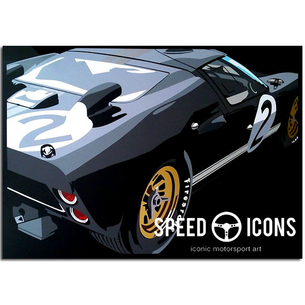 SPEED ICONS: Ford GT40