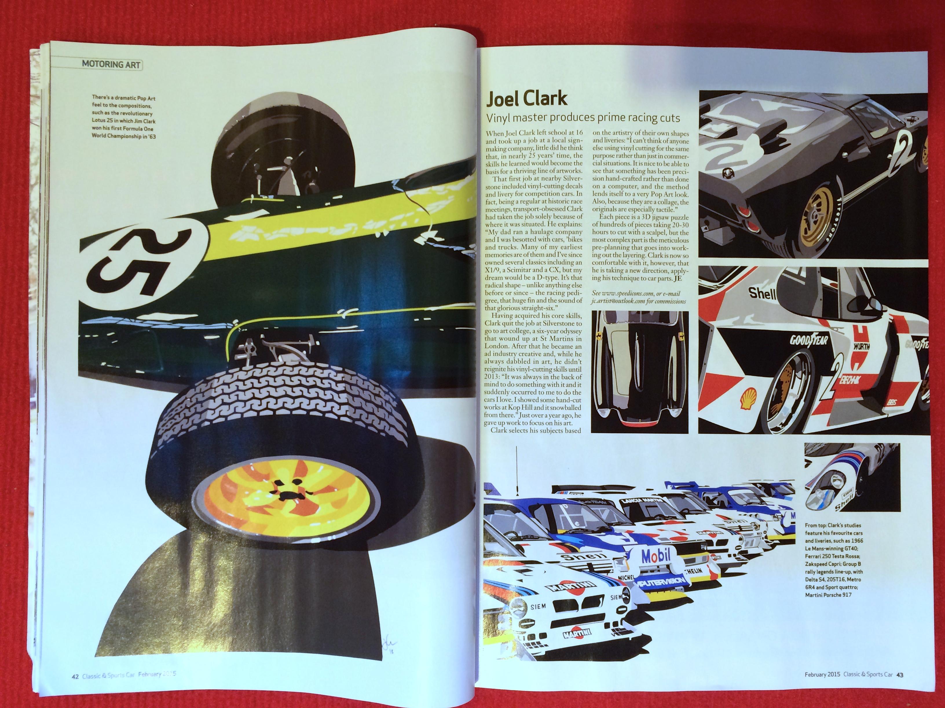 Classic & Sportscar Magazine Feb. 2015
